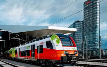 В Австрии испытывают первый гибридный поезд