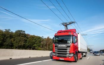 Scania візьме участь у дослідженні ефективності електровантажівок на контактних лініях