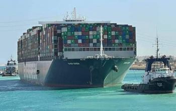 Нарешті контейнеровоз Ever Given, що блокував Суецький канал, можуть звільнити