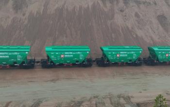 Рухомий склад «Ковальської» збільшився на 100 нових вагонів