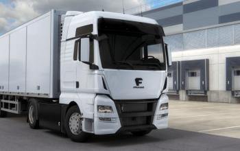 У Німеччині створили 40-тонну електровантажівку для «середньої милі»