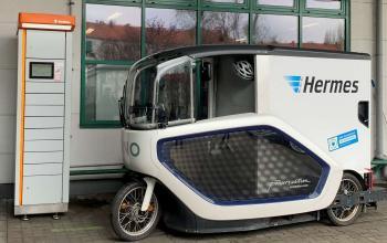 Hermes переходить на вантажні електровелосипеди зі змінними акумуляторами