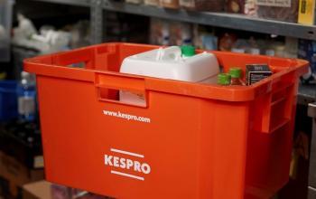 Фінська компанія Kespro переходить на багаторазові пластикові контейнер