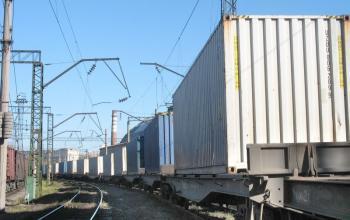 По маршруту Одесса-Кишинев запустят контейнерный поезд