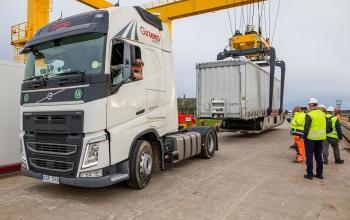 Між Литвою та Німеччиною відкрили новий маршрут для контрейлерних перевезень