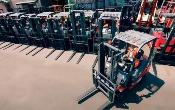 Logistic Forklift помогает бизнесу быть в движении!