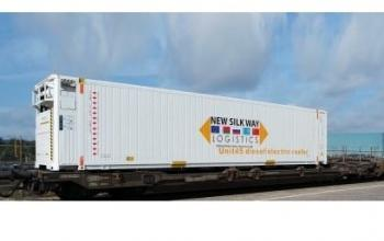 Рефрижератори знову вирушили залізницею з Китаю