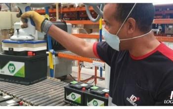 ID Logistics використовує пневматичний кронштейн для палетизації акумуляторів