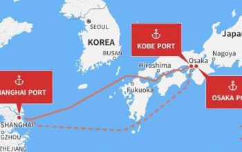 Японський 3PL-оператор використає швидкісні пороми до Китаю для доставки контейнерів