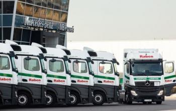 Компанія Raben оновлює свій автопарк у Польщі