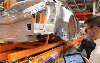 Логістика компанії Volkswagen фокусується на технології RFID та мережевих заводах