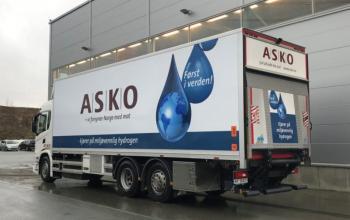В Європі починають тестувати водневі вантажівки