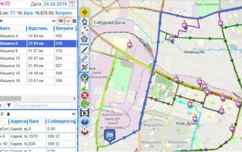 Оптимізація транспортного процесу під час доставки вантажу у роздрібну мережу