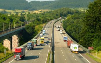 На німецьких дорогах найкраще почуваються литовські вантажівки